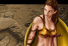 Spartan female warrior